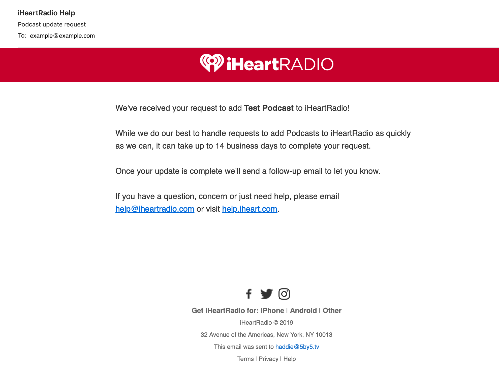 How to Distribute Your Podcast to iHeartRadio